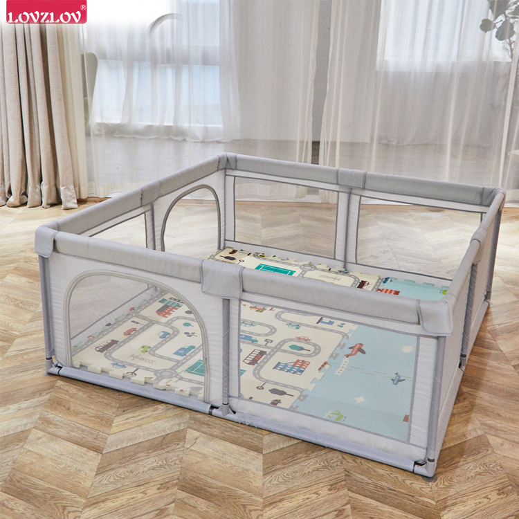 Children Gaming Fence Indoor Baby Anticollision Safe Crawling  Learner Indoor Protective Grating Amusement Park Baby Playpen