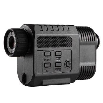 200M Range IR Infrared Night Vision Monoculars 640X480 Resolution LCD Display Mini Size Night Hunting Scope Cameras фото