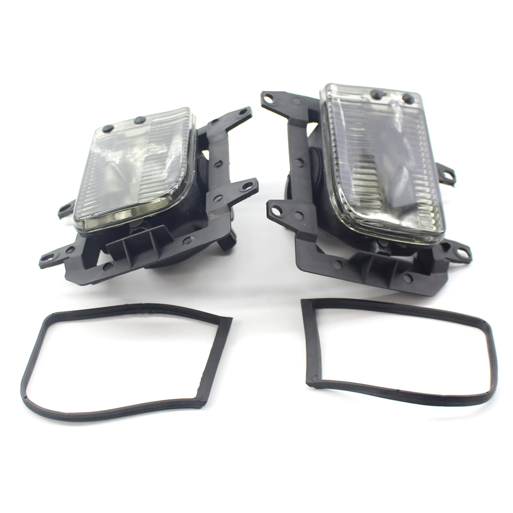 2pcs/Pair Front Bumper Clear Fog Lights IPN 63171385945 / 63171385946 For BMW E30 318i 320 325i 1982to1994 Car Lamp 3 Sep23