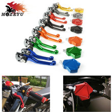 цена на Motorcycle Brake Clutch Lever Pivot Lever and Clutch Lever Easy Pull Cable System for YAMAHA YZ80 1986-1992 1993 1994 1995 1996