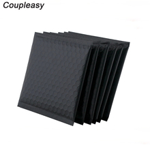 30 adet mat siyah kabarcık zarf öz mühür posta alüminyum folyo çanta su geçirmez posta ambalaj baloncuklu zarf