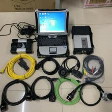 Icom Next для BMW MB Start C5 SD подключения 5 автомобилей/грузовиков диагностический набор инструментов,12 V 2 программного обеспечения в 1 ТБ HDD CF19 touchable CF-19 PC
