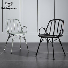 Nordic Plastic Restaurant Dining Chairs for Dining Rooms Restaurant Office Outdoor Family Furniture Chair Farm Table and Chairs