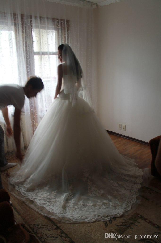 Bridal Gown Casamento Vestido De Noiva 2018 New Fashionable Romantic Vintage Ball Bandage Mother Of The Bride Dresses