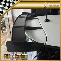 RK Style Carbon Fiber Rear Spoiler Glossy Finish Roof Wing Fibre Splitter Lip Kit Trim Part Fit For F56 Mini Cooper S(S Only)