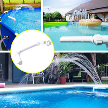Swimming Pool Waterfall Fountain Kit PVC Feature Water Spay Pools Spa Decorations Swimming Pool Accessories