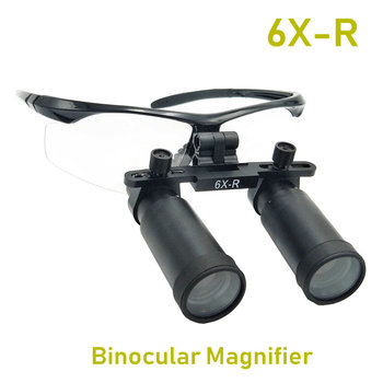 6X-R Professional Medical Dental Loupes Surgical Binocular ENT Kepler Optical Magnifier Microsurgery Magnifying Glasses цена 2017