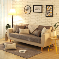 100 Cotton Sofa Cover Anti skid Plaid Sofa Covers Cushion Cover Four Seasons Multi Functional Couch Cover for L Shaped Sofa Seat