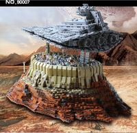 MOC 21007 5162Pcs Star Plan The Empire Over Jedha City Building block Bricks toy for Christmas gift 18916 05027|Blocks| |  -