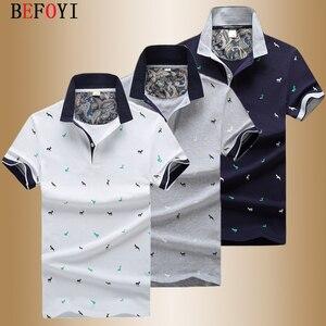 Image 3 - Men Polo Shirt Summer Deer Print Short Sleeve Polos Fashion Streetwear Plus Size Tops Men Cotton Sports Casual Golf Shirts