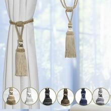 Curtain Tassel Rope-Tie Tiebacks Curtain-Holder-Accessories Decorative Drape 1PC