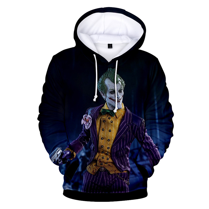 Hip Hop Graffiti Hoodies Mens Autumn Casual Pullover Sweats Hoodie Male Fashion Skateboards Sweatshirts off white haha joker 3D 5