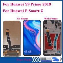 659 дюймов aaa дисплей для huawei p smart z ЖК сенсорный экран