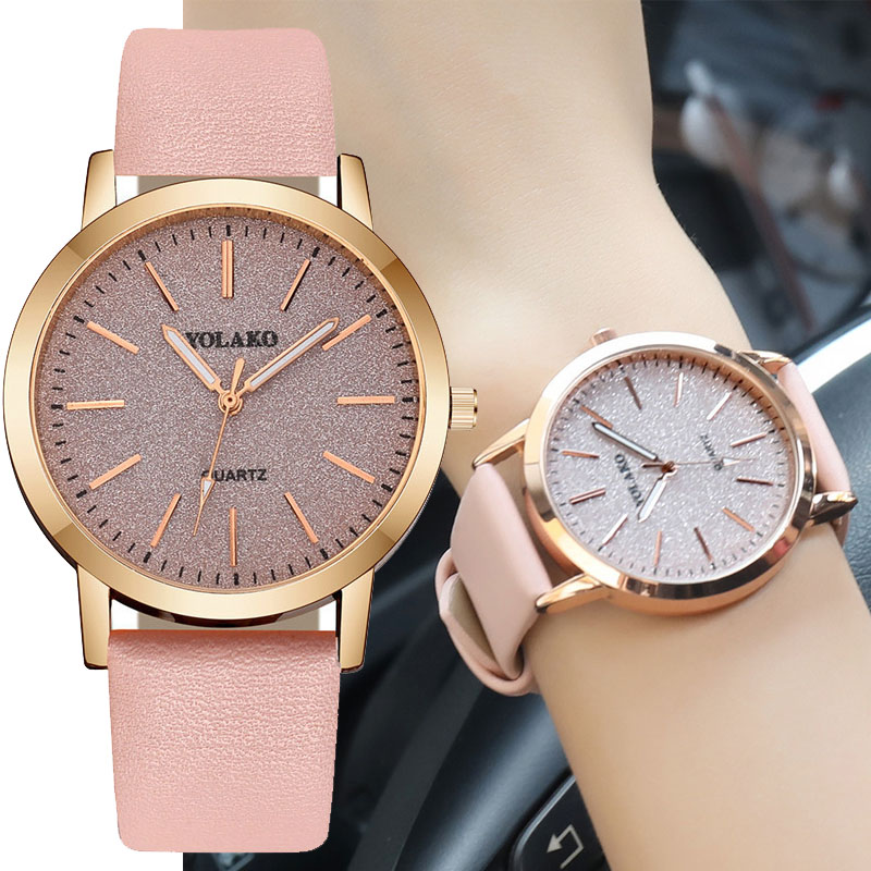 Fashion Ladies Watch Elegant Women Luxurious Bracelet Women's Casual Quartz Leather Band Starry Sky Watch Analog Wrist Watch