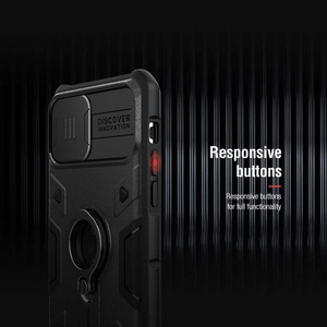 Image 5 - IPhone 11 durumda Nillkin CamShield zırh kapak iPhone 11 чехол kamera koruma