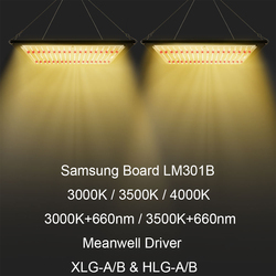 Samsung Board LM301B SK 3000K/3500K/4000K/660nm Dimmable 120W 240W LED Grow Light Full Spectrum for Indoor Hydro Plant