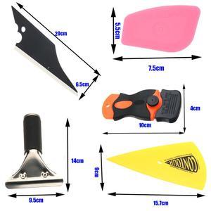 Image 4 - 28 * รถฟิล์มไวนิล Tools Squeegee Scraper Applicator ชุดอุปกรณ์จัดแต่งทรงผม Window Tint Wrapping เครื่องมือ