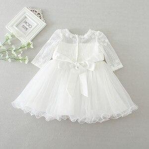 Image 2 - Hetiso Baby Girl chrzest sukienka niemowlę chrzciny sukienki dla dziewczynek 1 pierwsze urodziny Party księżniczka suknia na ślub 3 24M