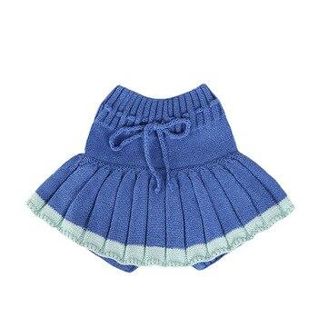 Baby Girl's Knitted Short Skirt 4