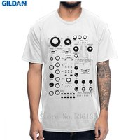 Classic Analog Synth Synthesizer Controlled Roland Music T Shirt Fashion O Neck Comfortable 100% Cotton Amazing Tee Shirt
