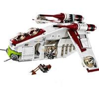 Star Wars Compatible legoinglys StarWars 75021 Republic Gunship Set Children Educational Blocks Christmas Gifts For Boys gift
