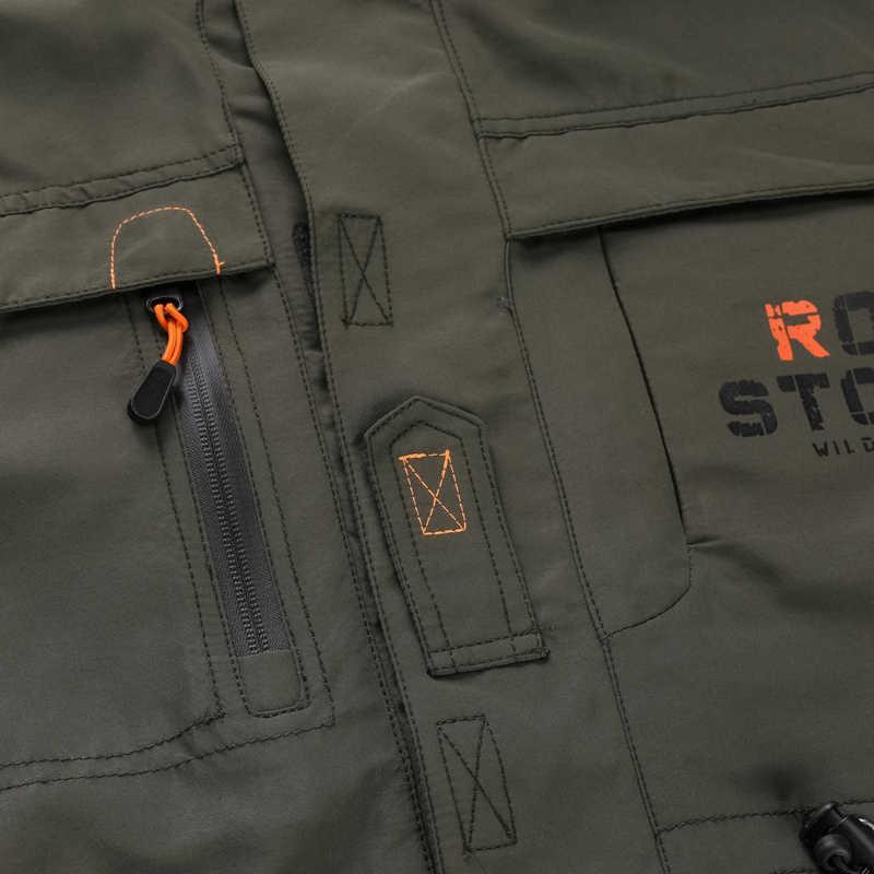 מותג צבאי מעיל גברים 2019 אביב סתיו לנשימה טקטי מפציץ מעילי גדול גודל 5XL 6XL מטען רוח בגדי מעיל