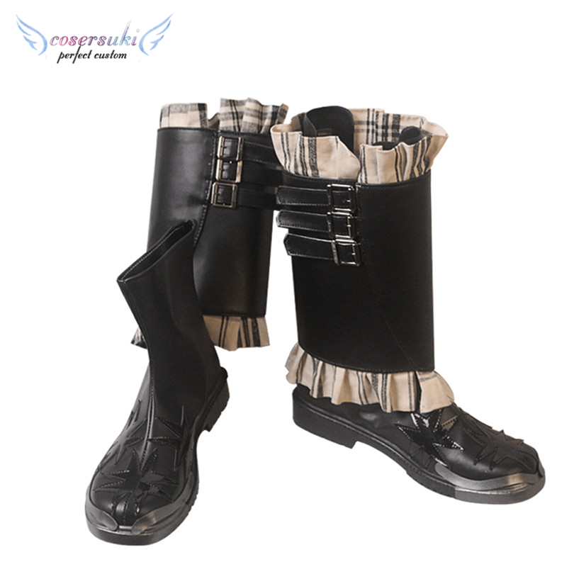 Free Shipping! <font><b>Final</b></font> <font><b>Fantasy</b></font> <font><b>XV</b></font> <font><b>Ardyn</b></font> Izunia Halloween Cosplay Boots Cosplay Shoes image