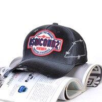 DSQICOND2 new Cotton Summer Baseball Cap unisex Embroidery ICON Dad Hat Hip Hop DSQ Trucker Cap Hombre Gorras Casquette