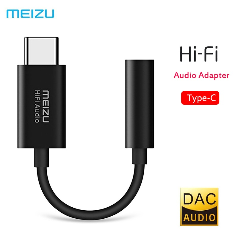 <font><b>MEIZU</b></font> Hallo-fi Audio Dekodierung Amp Pro DAC 3,5mm Typ-C Audio Adapter Kopfhörer Verstärker Adapter 32bit/384k für Android Windows Mac image