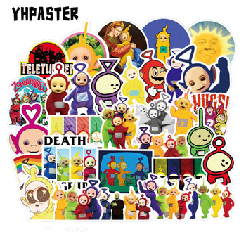 10/30/50Pcs Anime The Teletubbies Cartoon Stickers For Laptop Refrigerator Motorcycle Skateboard Scrapbook Toy Gift Box Sticker - discount item  32% OFF Classic Toys