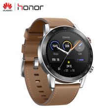Huawei Ehre Magie 2 Smartwatch 46MM Minos 5ATM GPS Uhr 1,39 zoll AMOLED 454x454p Touch Screen bluetooth Musik Für Android IOS(China)