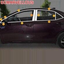 Accesorios Coche Sticker Decoration Car Accessories Exterior Window 2014 2015 2016 2017 2018 2019 FOR Toyota Corolla Levin