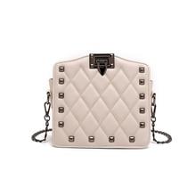 Luxury Leather Women Messenger Bag Famous Brand Bag Classical Bags Diamond Lattice Crossbody Bags for Women Ladies Chain Clutch