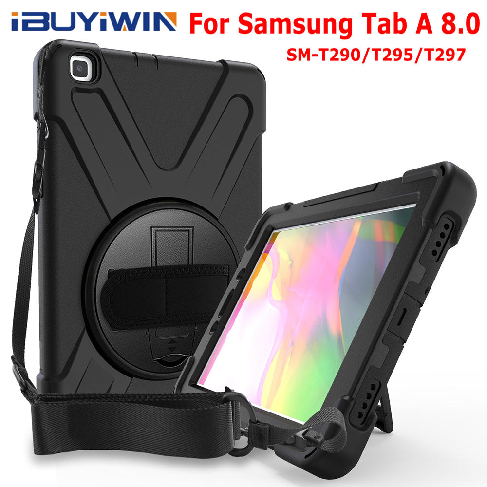 Ibuyiwin Cover Shoulder-Straps Samsung Galaxy Funda-Case Tablet Shockproof for Tab-A title=
