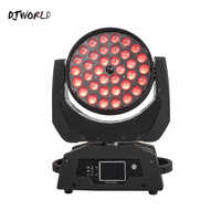DJWorld Fast Shipping LED 36x12W RGBW 4in1 Moving Head Spot Stage Lighting Effect For Night Light DJ KTV Disco  Professional
