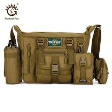14 inch Laptop Waterproof Sling Shoulder Bag,Tactical Military Crossbody Bag for men,Outdoor Travel Climbing Messenger Bag