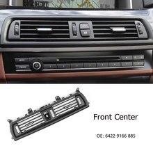 Lh/rh/centro traseiro console ventilação de ar capa para bmw série 5 520d ventilação saída de ar fresco aberturas grade para bmw 530d f10 f18 525d