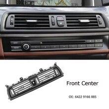 LH/RH/ Rear Center Console BMW 5 시리즈 520D 용 에어 벤트 커버 BMW 530d F10 F18 525d 용 신선한 공기 배출구 그릴