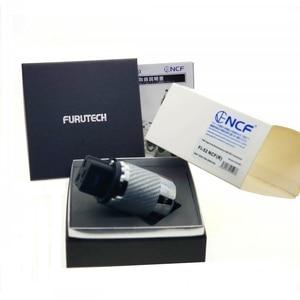 Image 4 - Furutech FI 52 Ncf (R) high End 20A Inlet Plug Rhodium Plated Diy Voor Audio Plug Adapter Matihur Hifi