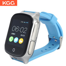 Smart Watch for elderly People 3G Kids GPS WIFI SOS LBS A19 GPS Watch Camera Locate Finder emergency call 3G child smartwatch android 5 1 smartwatch x11 smart watch mtk6580 with pedometer camera 5 0m 3g wifi gps wifi positioning sos card movement watch