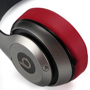 Image 3 - استبدال بطانة للأذن وسائد ل Beats ستوديو 3 سماعة رأس لاسلكية (أحمر داكن)