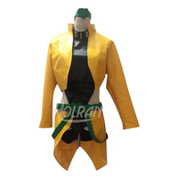 Hot blood anime JoJo's Bizarre Adventure cosplay costume Dio Brando tops coat apron set cos Sexual turn Halloween carnival party