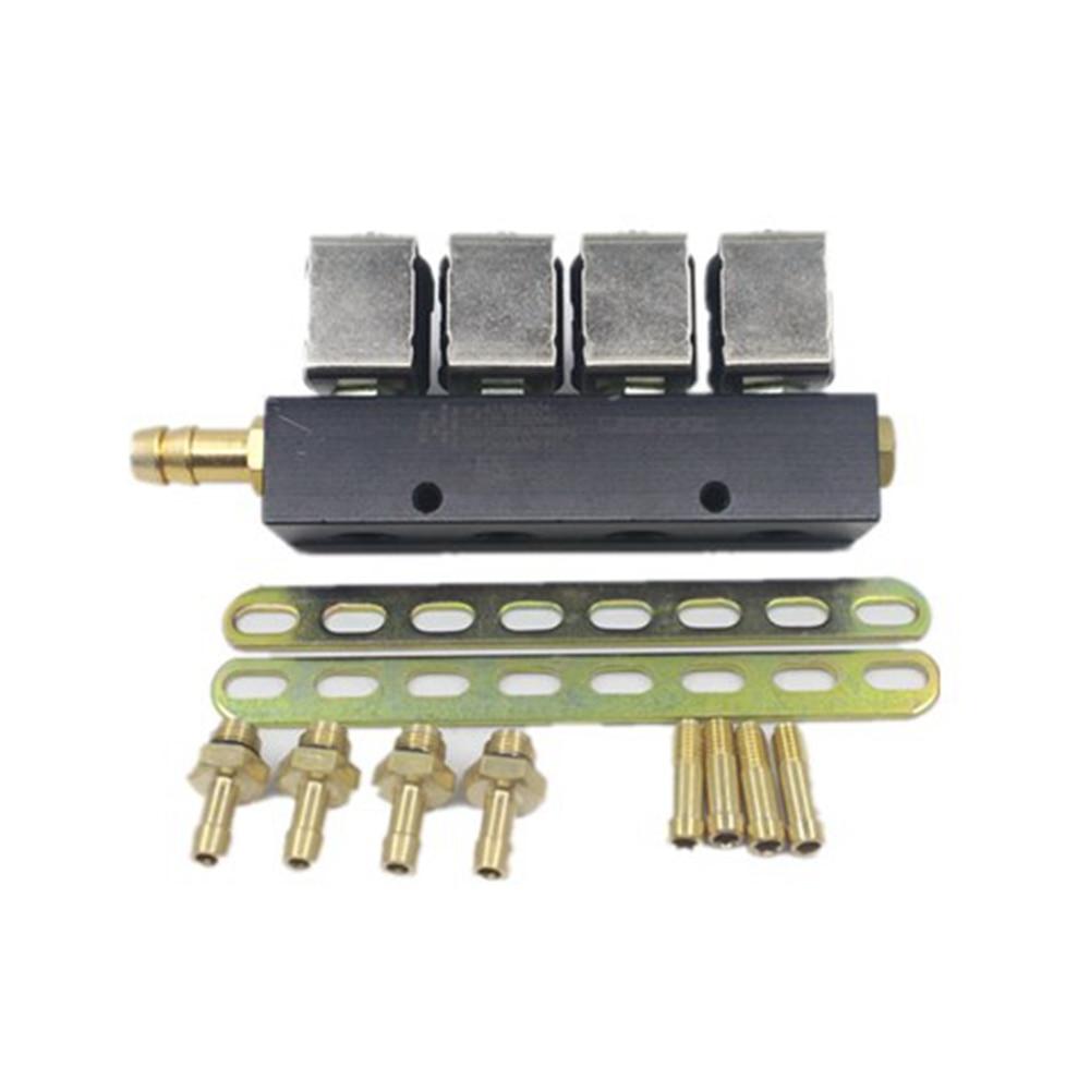 LPG CNG kits voor Valtek injector rail Digitronic type 30 BFC voor 4 cilinders