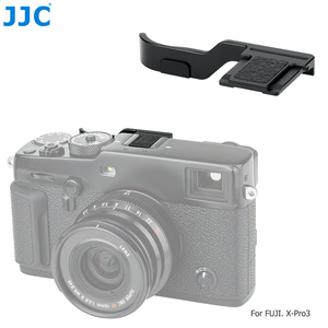 Image 2 - JJC Deluxe Metal Thumbs Up Grip For Fujifilm X Pro3 XPro3 X Pro2 XPro2 X Pro1 Camera Hot Shoe Hand Grip Camera Accessories