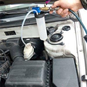Líquido de frenos portátil para coche, herramienta de reemplazo para cambio de aceite, bomba de aceite del embrague hidráulico purgador de aceite, Kit de vaciado, cambio y drenado