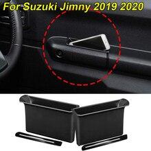 Для Suzuki Jimny подлокотник контейнер дверь коробка для хранения ручка карман 2 шт. Защита окружающей среды