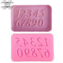 Chocolate Molds Cake-Decorating-Tool Candy Silicone 1pcs 0-9 Digital Soft