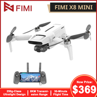 FIMI X8 Mini Kamera Drone 4K Fernbedienung Hubschrauber 8KM FPV 3-achsen Gimbal Drone GPS RC drone Quadcopter 250g-class Mini Drone