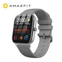 """Глобальная версия Amazfit GTS мужские Смарт-часы 1,65 """"retina дисплей водонепроницаемые Смарт-часы 14 дней батарея управление музыкой черный Firday"""