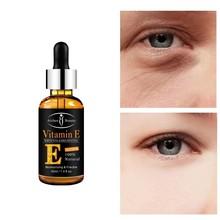 30 мл Витамин Е Сыворотка для глаз увлажняющая против морщин против старения отбеливающая темные круги для ухода за глазами эссенция против ...